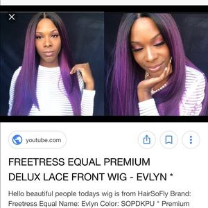 Freetress equal U part wig